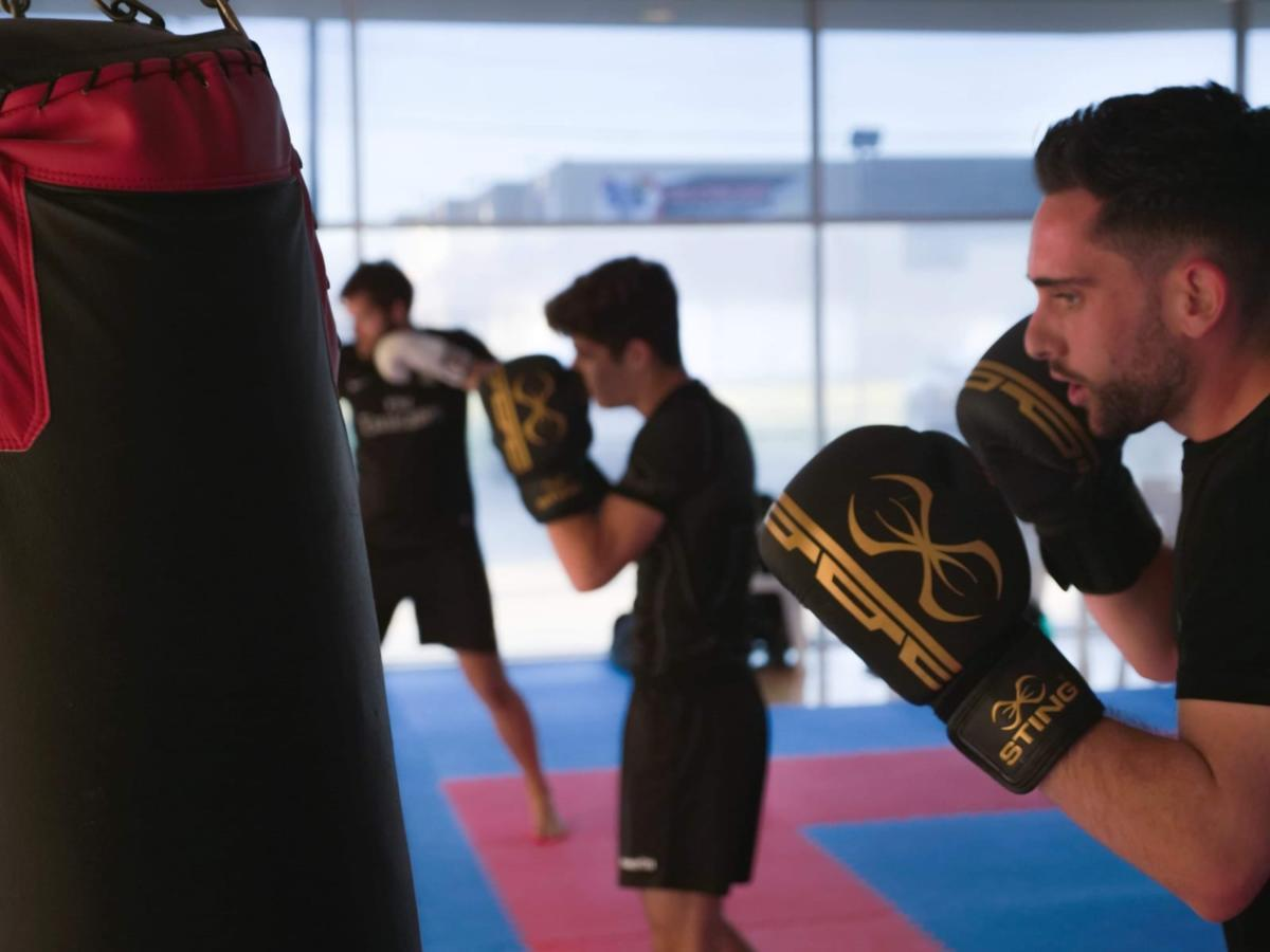 Ju Jitsu Bag Work